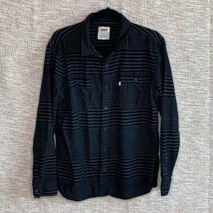 [Levi's] Striped Flannel Button Down
